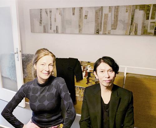 Studio Besuch von JUNYA ISHIGAMI